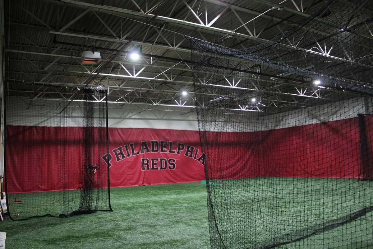 Philadelphia Reds training field for baseball training